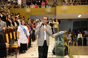 Ministrando no Templo Central da Assembleia de Deus em Imperatriz