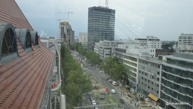 Vista do terraço da KaDeWe - Berlim