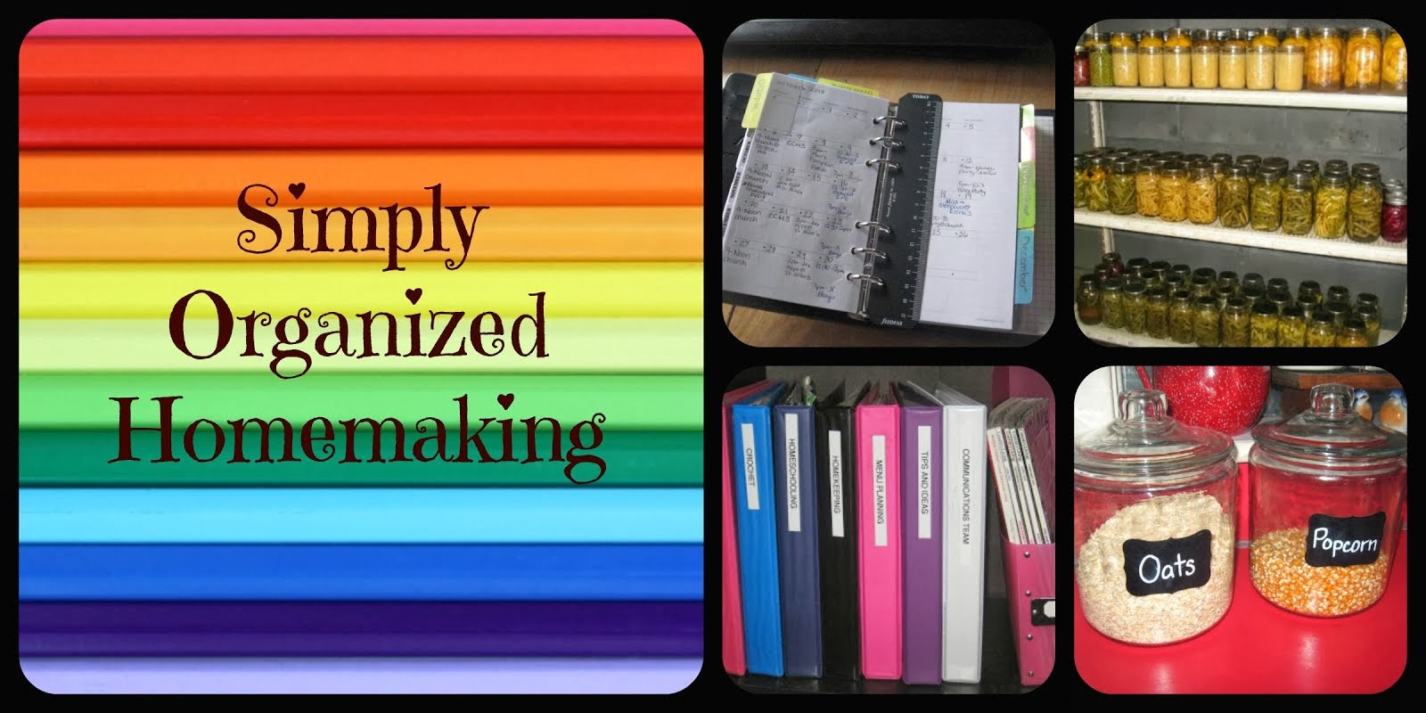 Simply Organized Homemaking