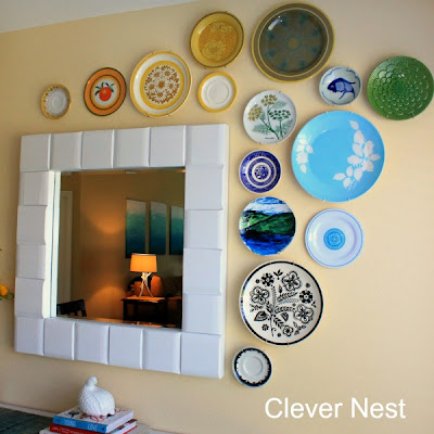 Easy modern plate arrangement