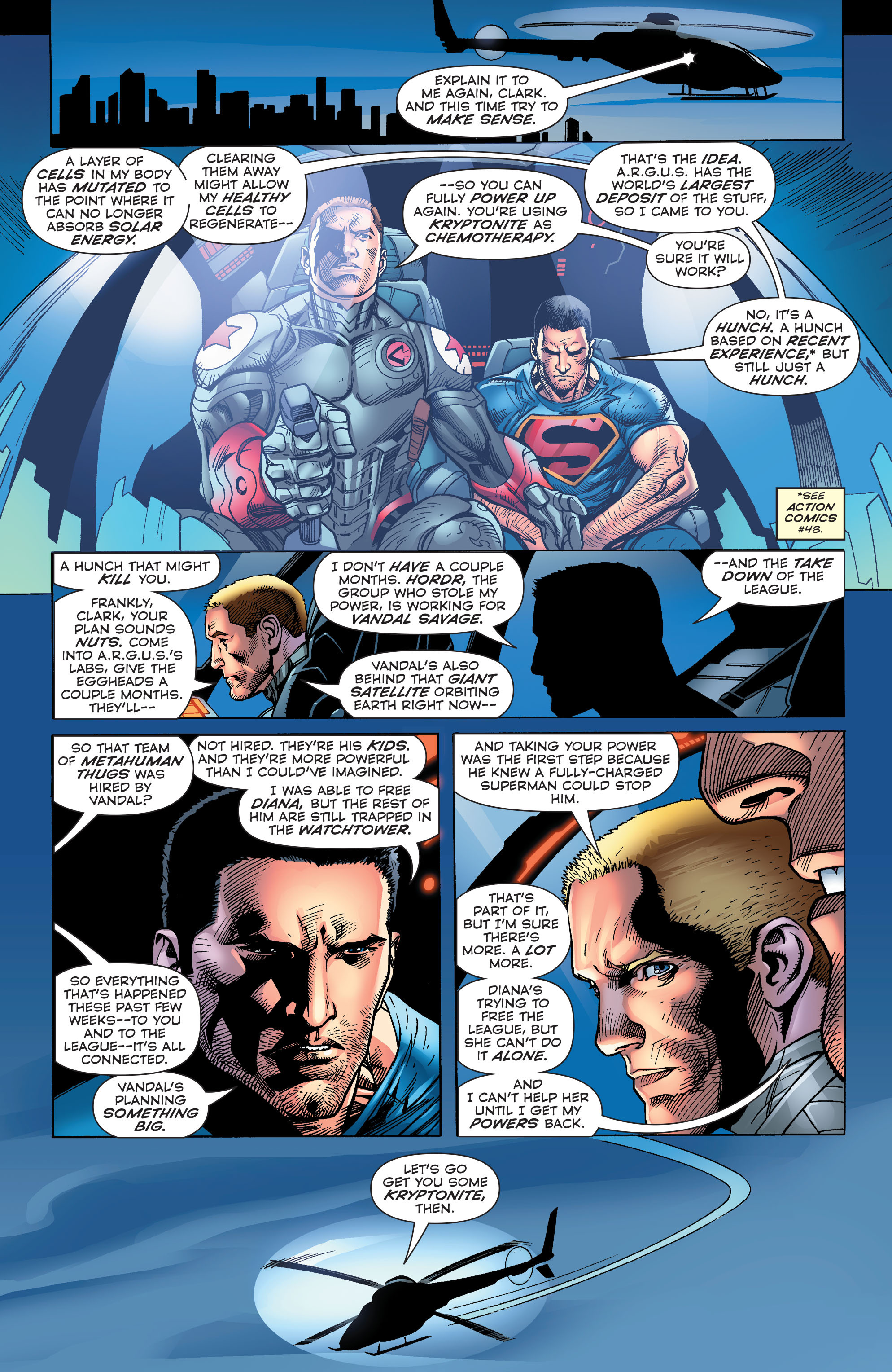 Read online Superman (2011) comic -  Issue #48 - 11