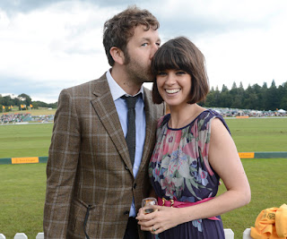 Chris O'Dowd and his wife Dawn O'Porter