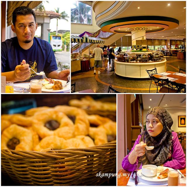 Breakfast at Mahkota Cafe, Mahkota Hotel Melaka