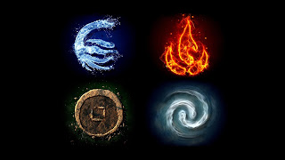 Avatar Anng Legend of Korra Water Fire Earth Wind Element Anime HD Wallpaper Desktop PC Background 1783