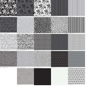 Riley Blake Designs TUXEDO COLLECTION Quilt Fabric by Doodlebug Designs