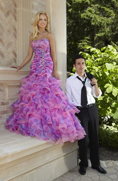 MY PROM MAKEOVER: Teen Queen Chooses Liz Fields Prom Dress