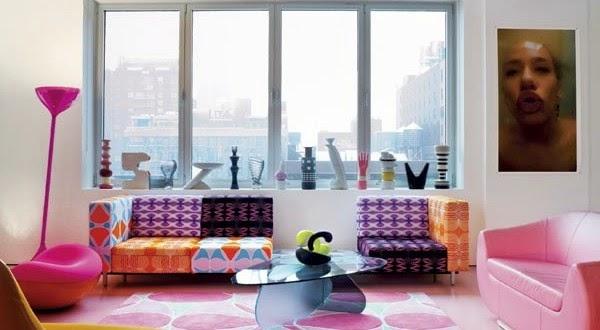 Modern Colorful Living Room Furniture