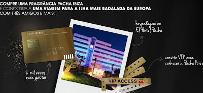 """Promoção """"Faça a festa com 3 amigos em Ibiza!"""""""