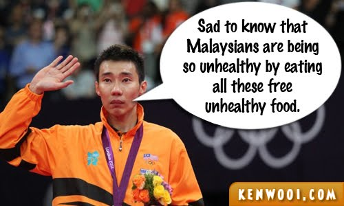 lee chong wei cry