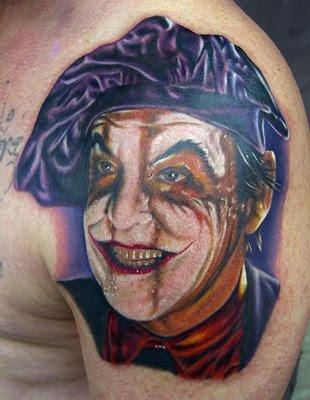 Imagens de Tatuagens do Coringa