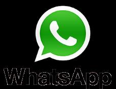 Whatsapp pessoal, para tirar dúvidas.