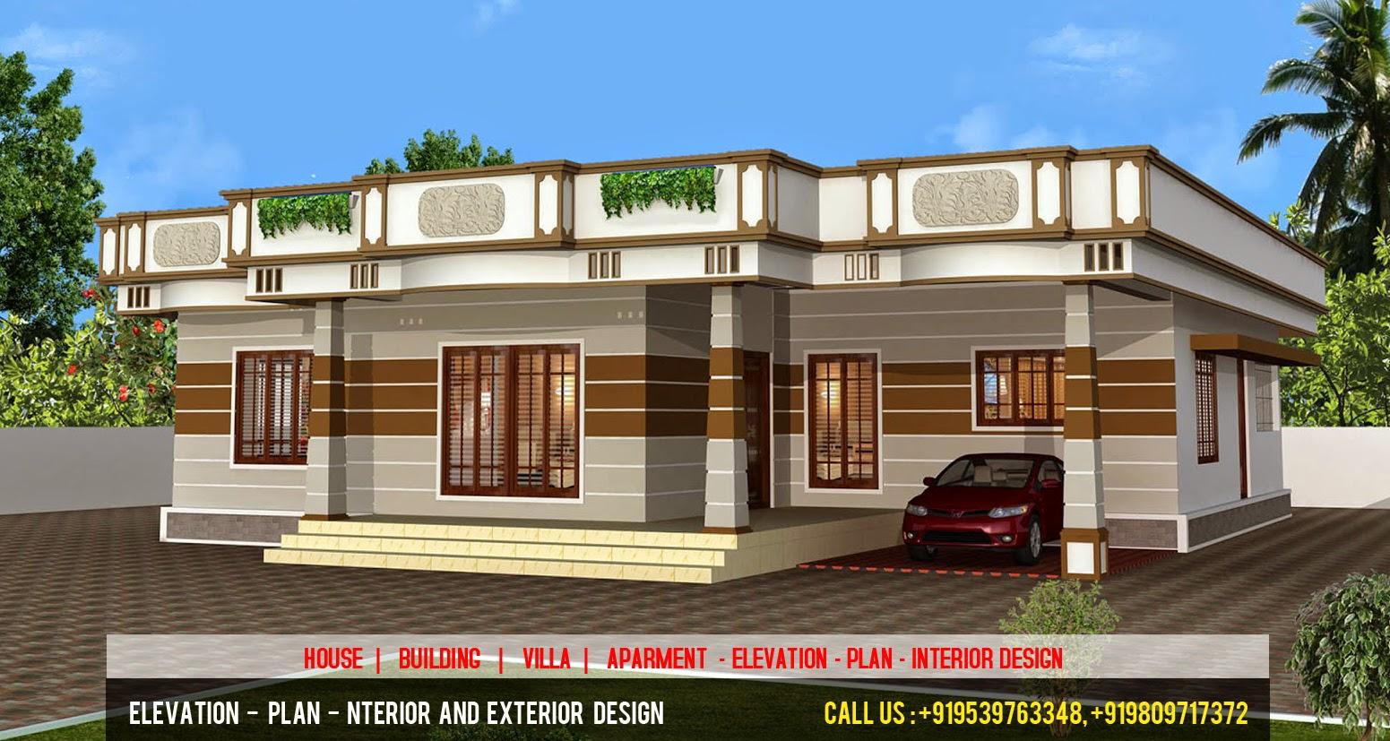 Exterior Elevation Plan : D elevation plan designer front cochin