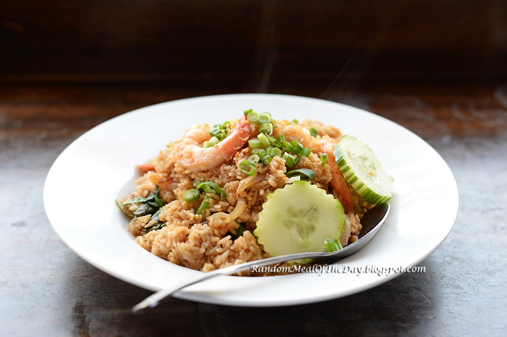 Spicy Shrimp Fried Rice at Bamboo Thai Bistro