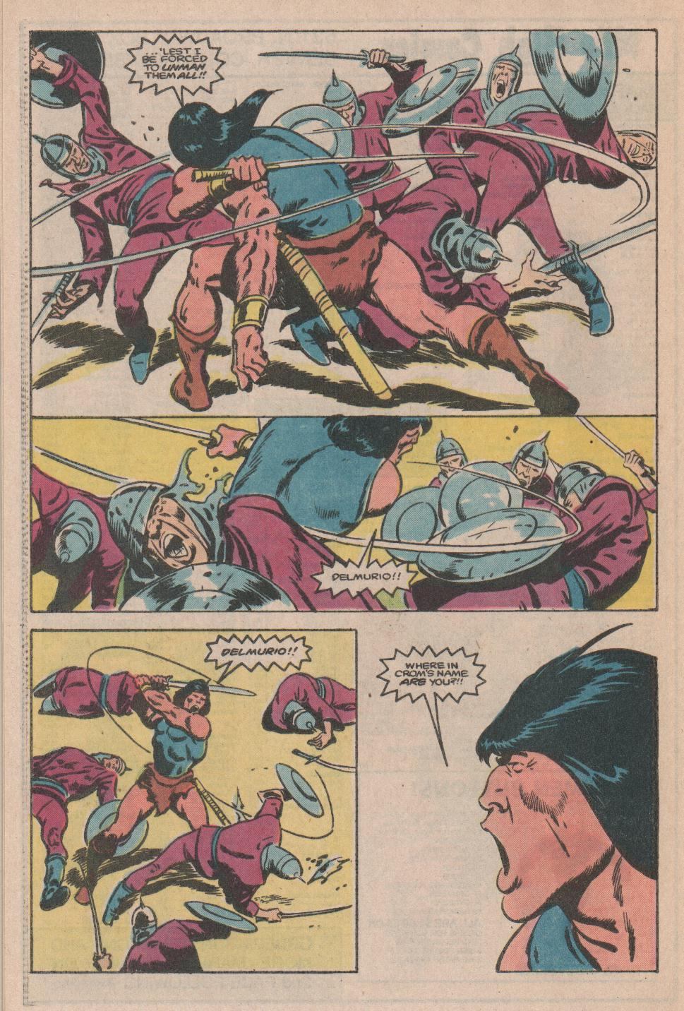 Conan the Barbarian (1970) Issue #174 #186 - English 18