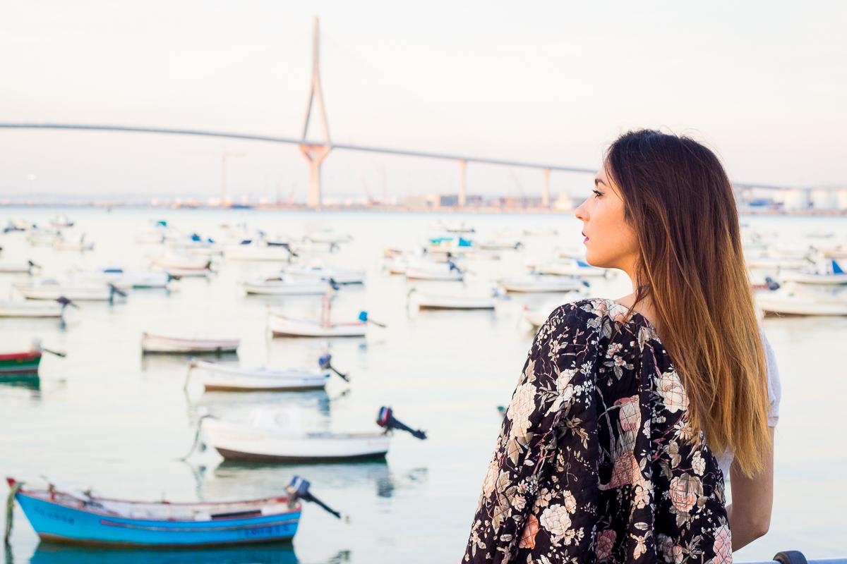 el puente de la constitución Cádiz