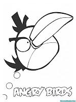 Lembar Mewarnai Angry Birds