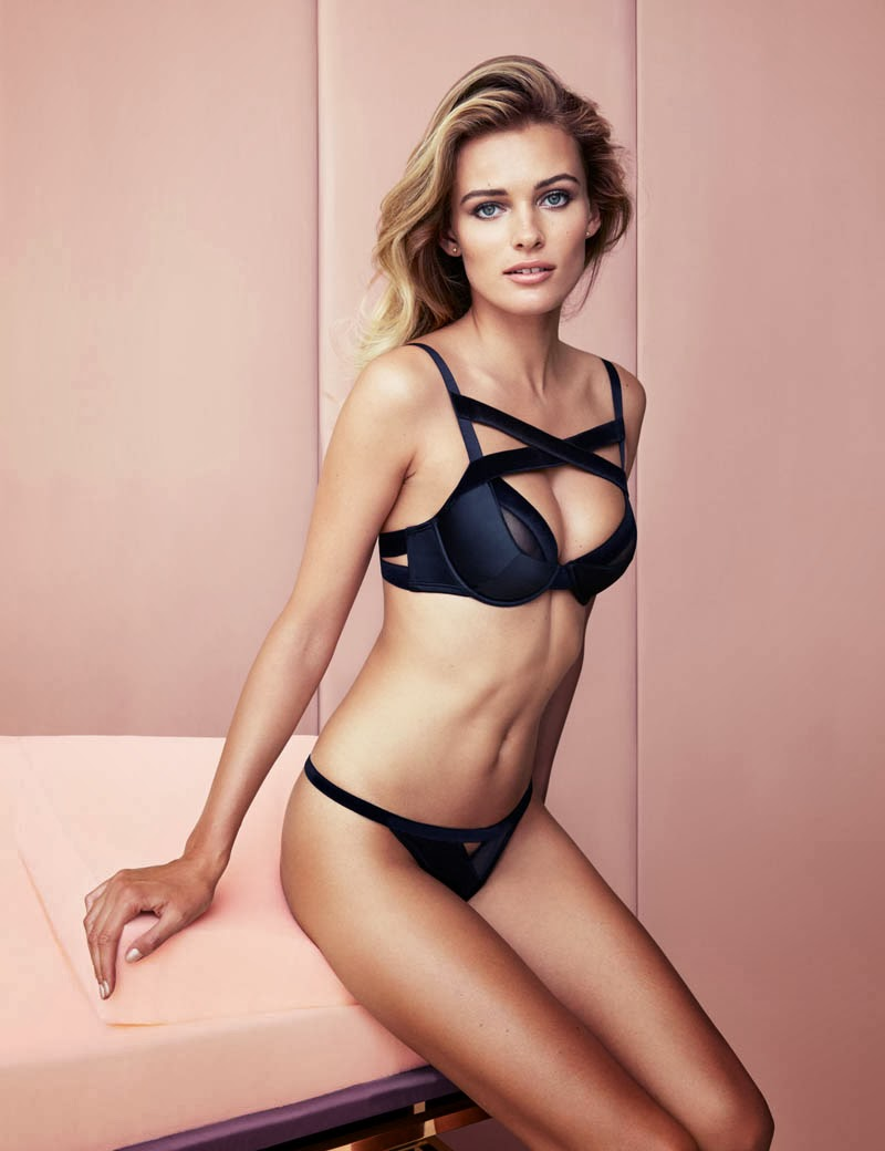 H&M 'Inner Beauty' 2013 Lingerie Lookbook featuring Edita ...