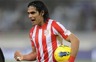 Tripleta de Falcao García con el Atlético de Madrid