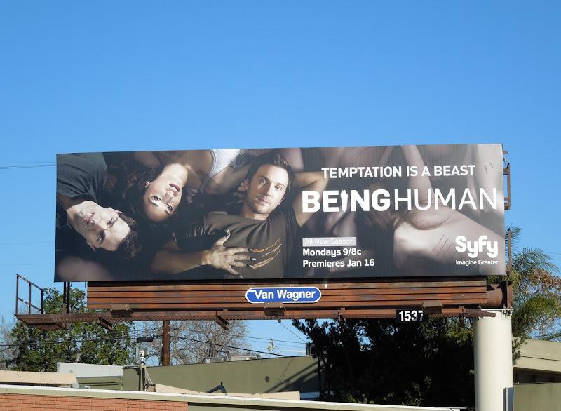 Being Human SYFY season 2 billboard