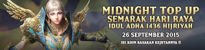 Rohan Online Indonesia Gelar Event Midnight Top Up Semarak Idul Adha