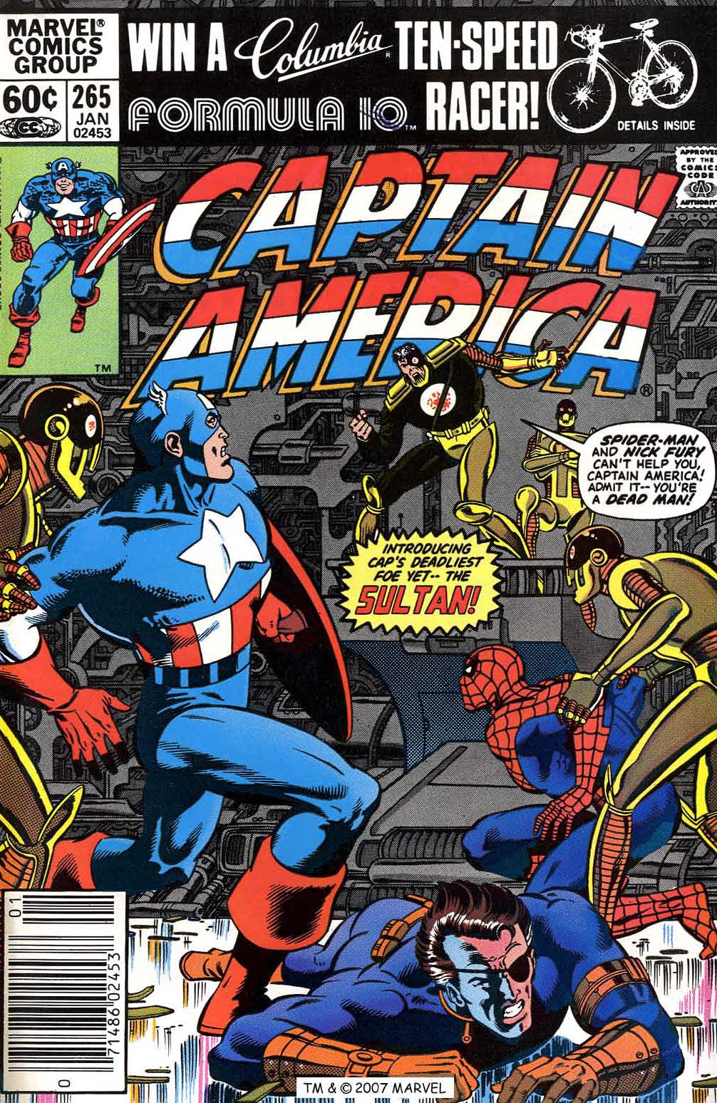 Captain America (1968) Issue #265 #180 - English 1