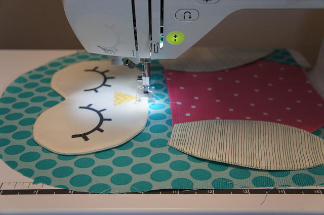 Sewing backpack for kids
