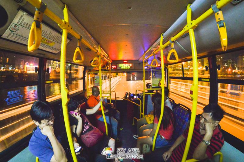 Took the convenient public transport (bus) to Venetian Macau