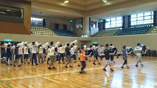 10月6日 体育館練習