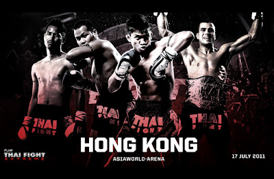 THAI FIGHT EXTREME 2011  ณ ประเทศฮ่องกง   (Asiaworld - Arena) ถ่ายทอดสดช่อง 3