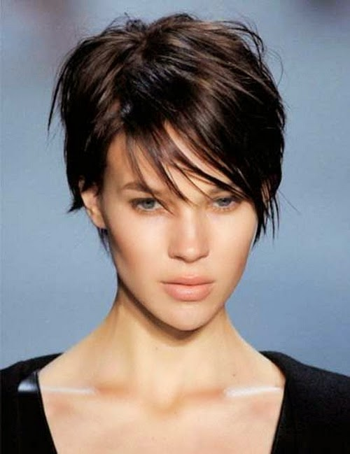 black short hairstyles for thin hair for women