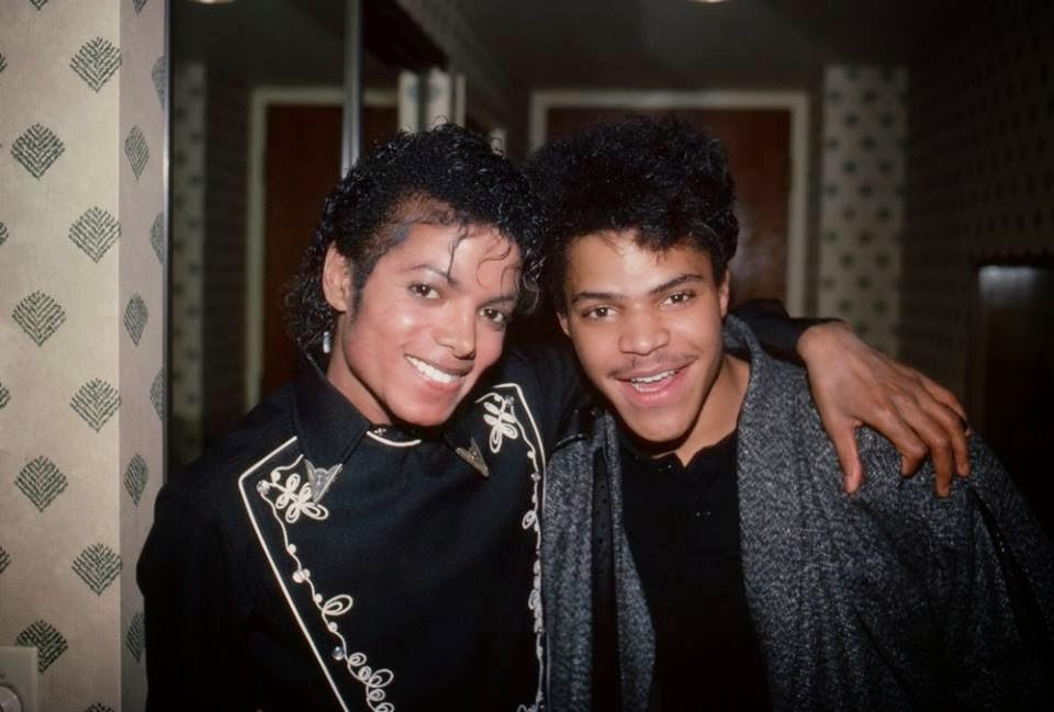 Berry Gordy And Michael Jackson