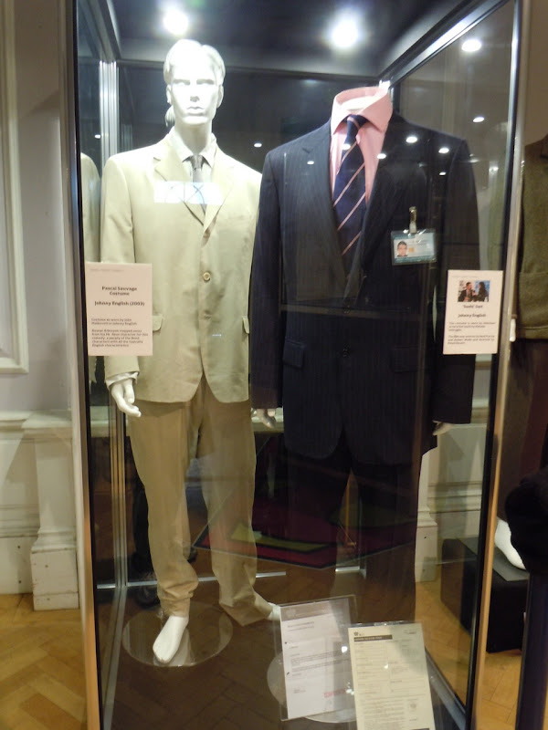 Johnny English movie costumes