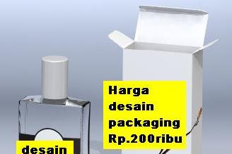 Menerima Desain kemasan packaging