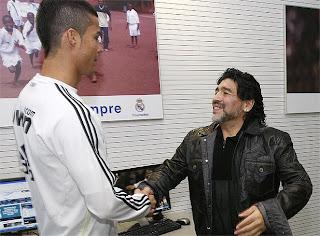 "Maradona: ""A Cristiano deben hacerle un monumento"""