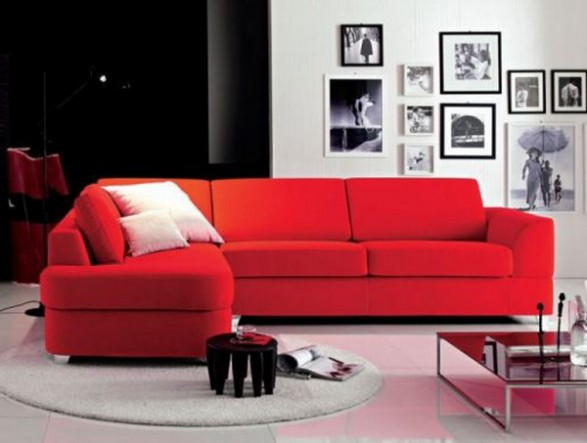 Dise o de sala de estar ergon mica living room c mo for Muebles de sala en l modernos