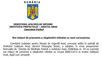 Aradon.ro: Se închid bisericile, piețele nealimentare și jocurile de noroc în Arad !