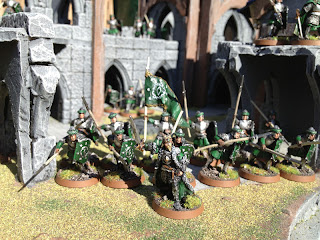 LOTR SBG warband of Arnor