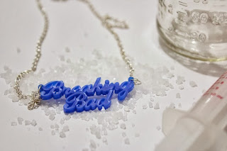Breaking Bad Name Necklace