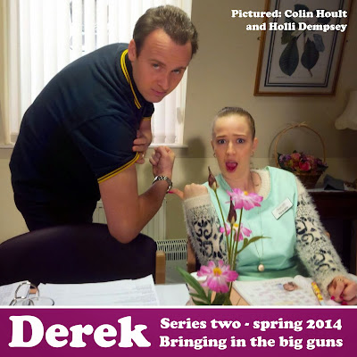 Colin Hoult and Holli Dempsey star in Derek Series 2