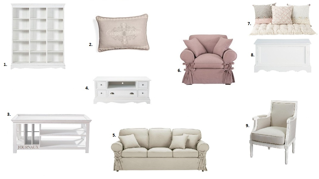 Home sweet home #4 : Style romantique - LM et Compagnie