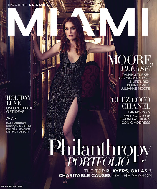 Actress, @ Julianne Moore - Modern Luxury, November 2015