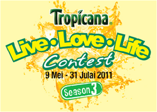 Tropicana Twister 'Live Love Life' Season 3 Contest