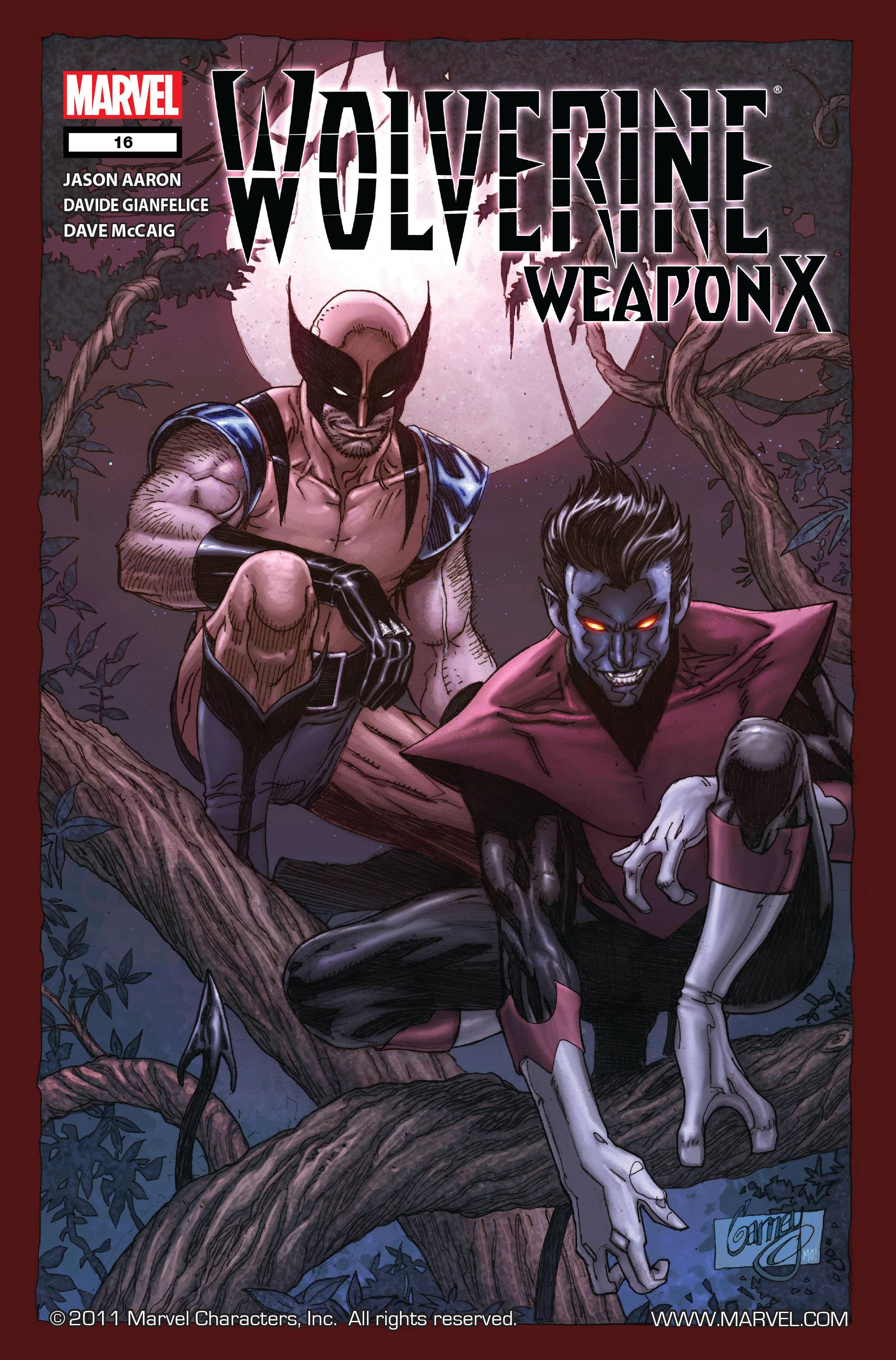 Wolverine: Weapon X #16 #16 - English 1