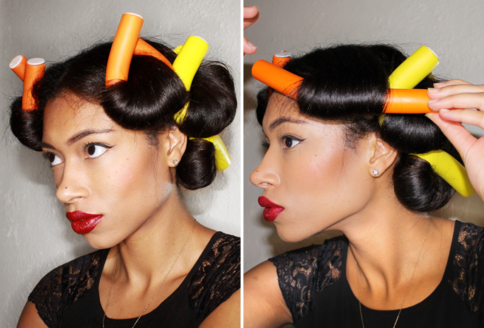 Hairstyles Using Flexi Rods : Flexi Rods