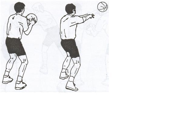 bola yang dioper dan arah bola harus lurus ke depan