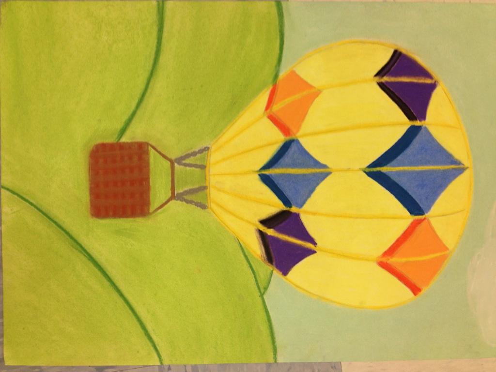 Pz c hot air balloon for Balloon art project