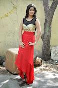 Meghasri glamorous photos in red-thumbnail-2