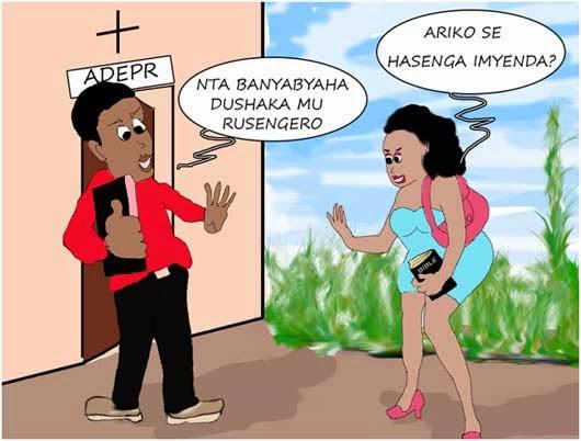 Urwenya Rushushanyije:Ese hasenga imyenda