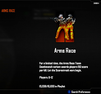 Arms Race is a new bonus game type for Xbox Live Call of Duty Black Ops 2 Multiplayer