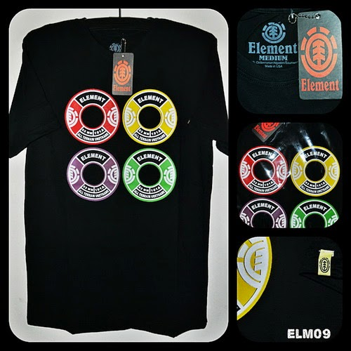 Kaos Surfing ELEMENT Kode ELM09